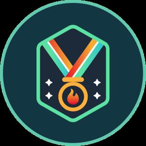 Weekly Contest Winner Badge